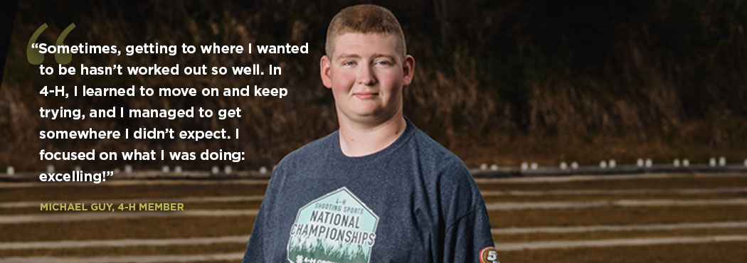 A 4-H youth explains how 4-H affected their life