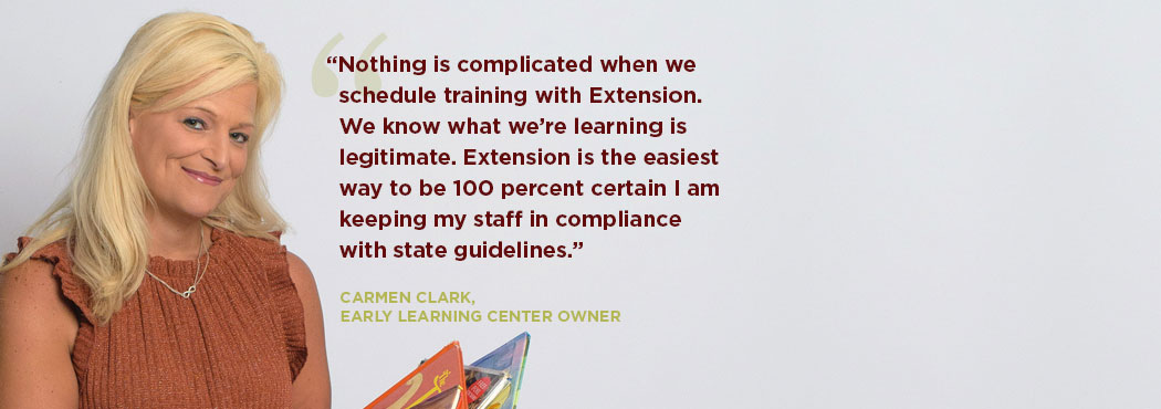 A doctor explains how Extension has helped him in his field