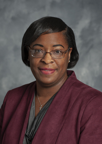 Portrait of Dr. Rocheryl Latrese Ware