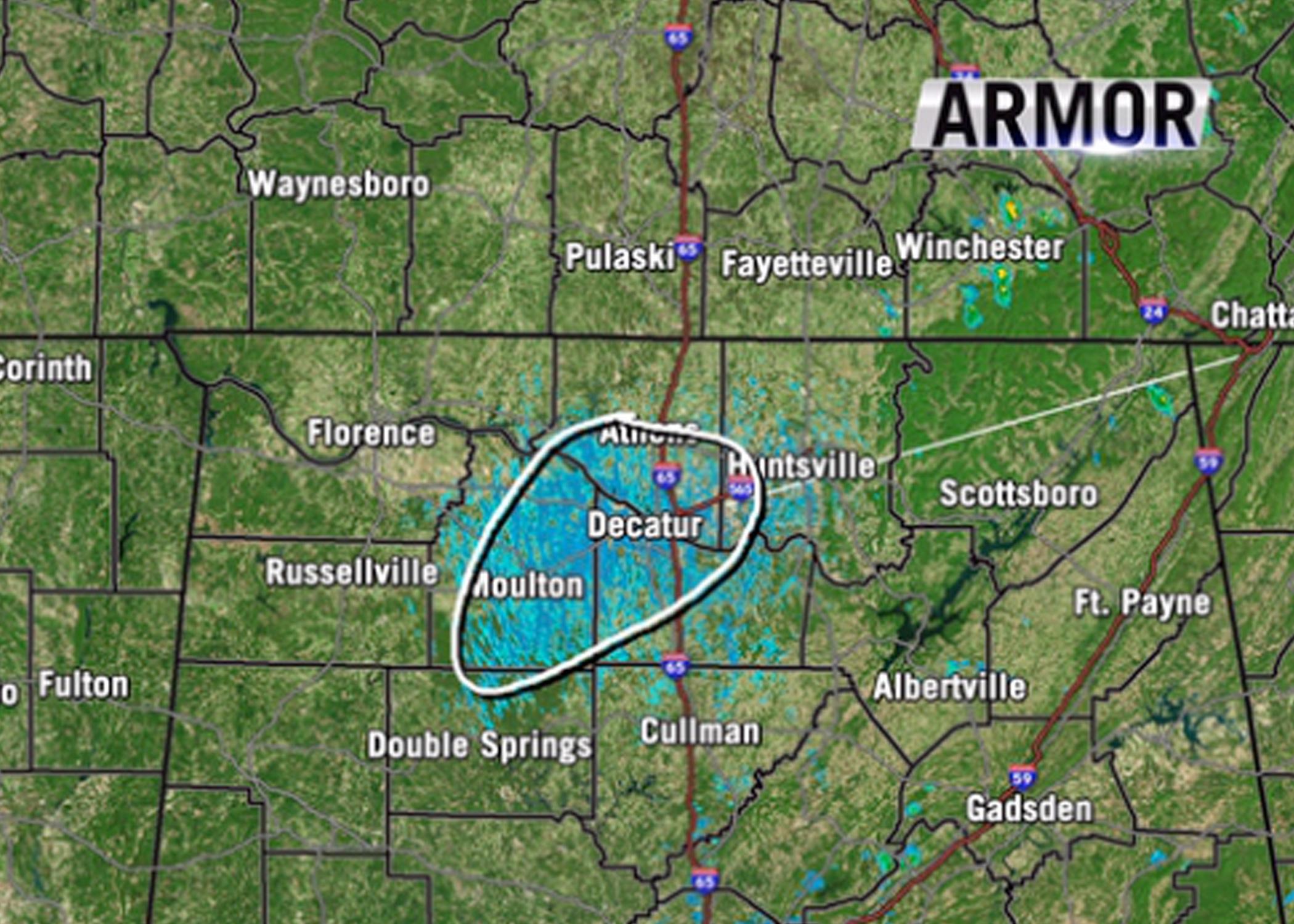 Recent AL Weather Radar Oddity Was Mayfly Swarm Mississippi - Weather radar map southeast us
