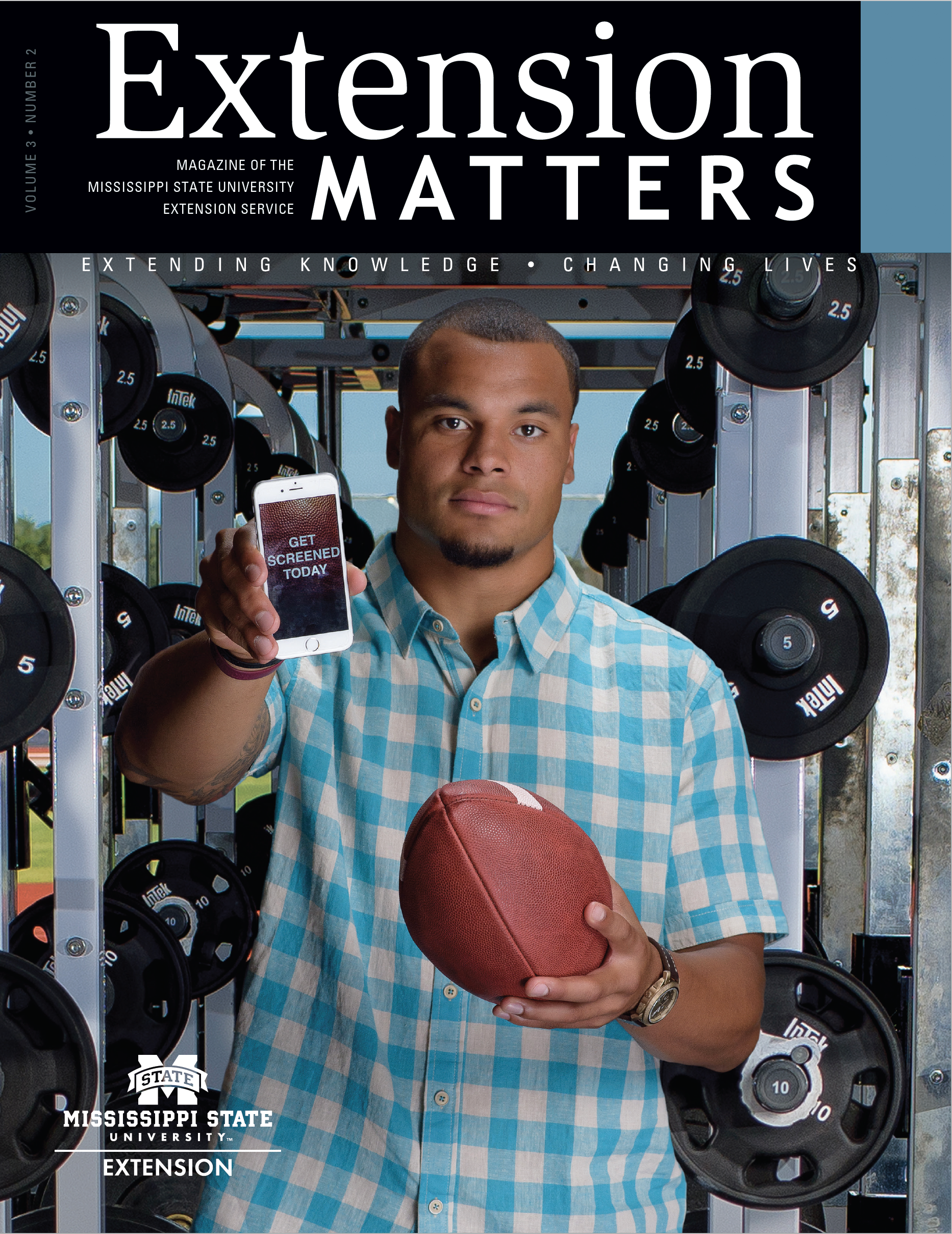 Extension Matters cover volume 3 number 2.