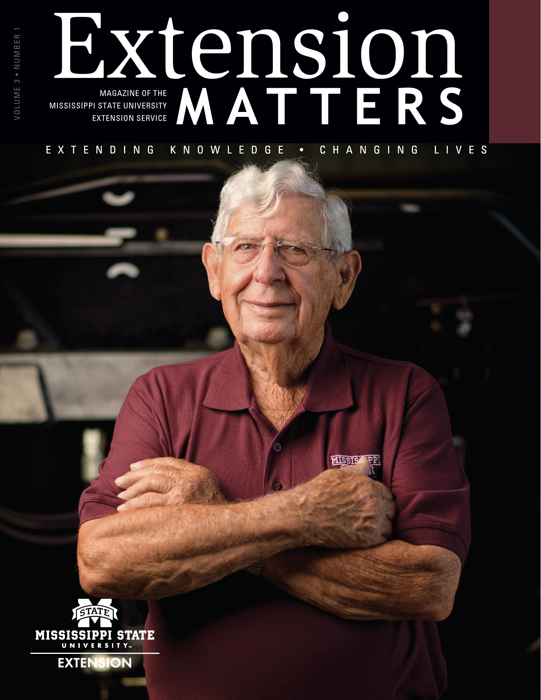 Extension Matters cover volume 3 number 1.