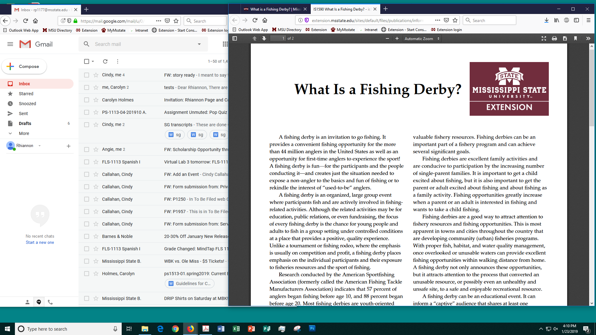 What is a Fishing Derby? | Mississippi State University Extension