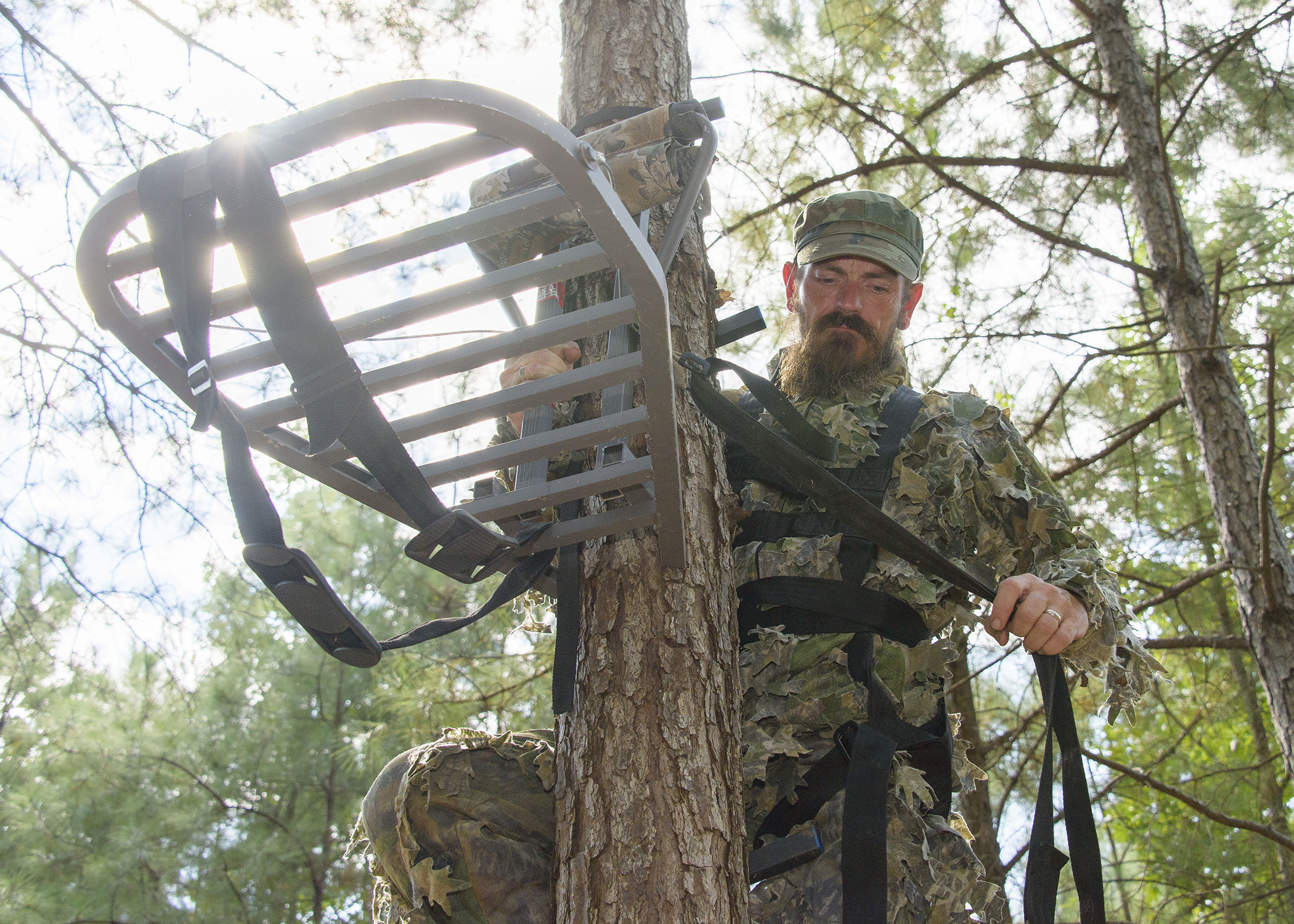 Take Extra Precautions When Using Tree Stands