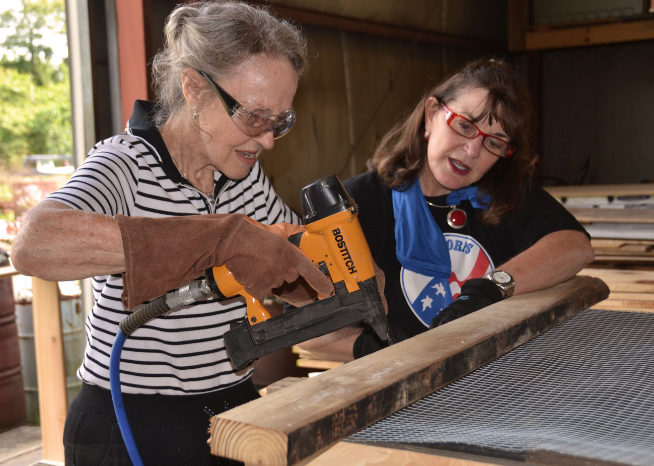 Master gardeners donate 100th salad table | Mississippi State ...
