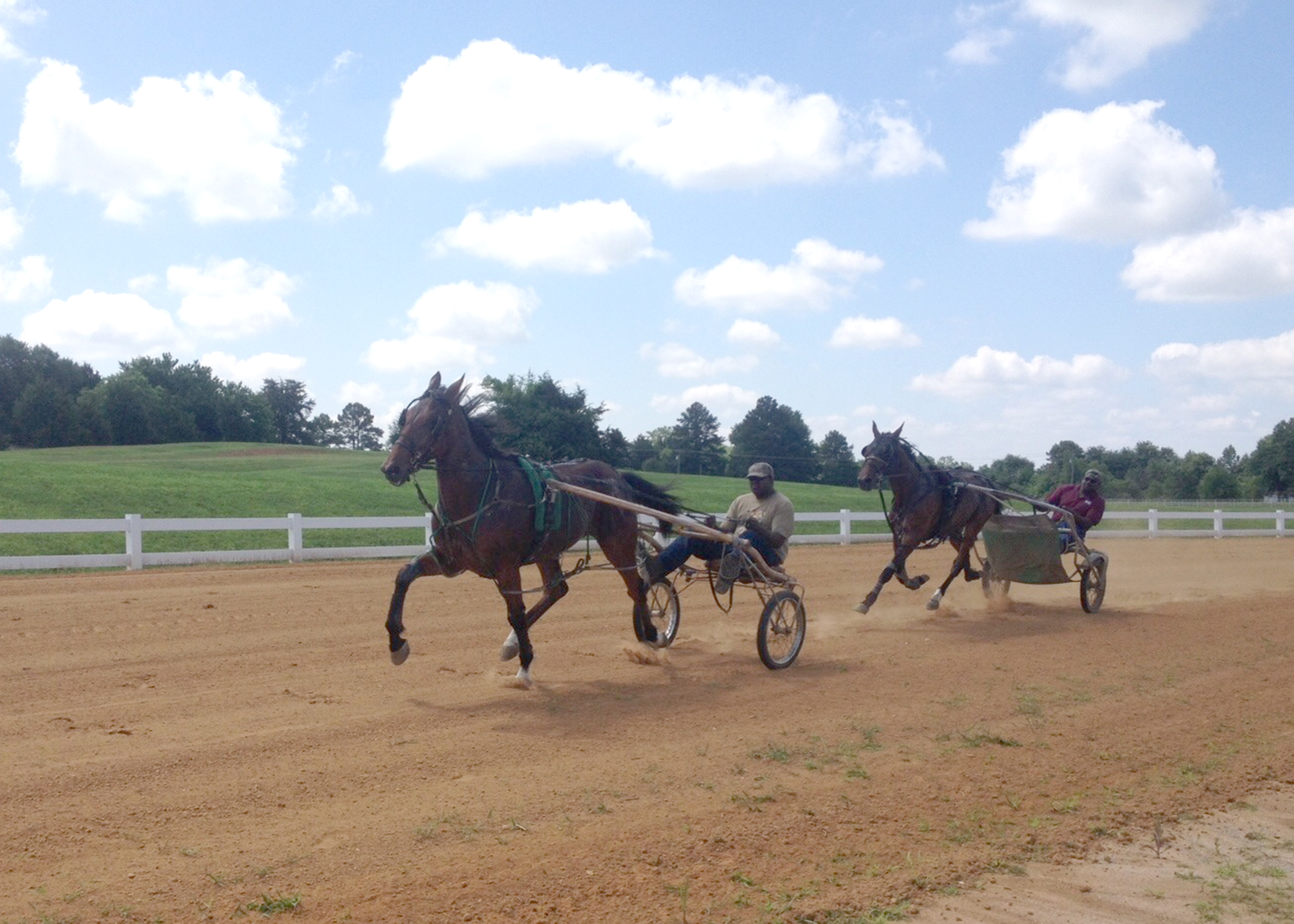 20160506_harness harness racing returns to oktibbeha county mississippi state