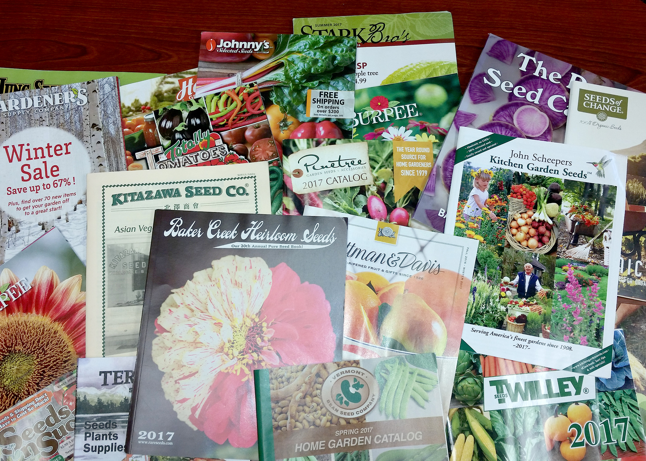 Gardening catalogs extend excitement through winter Mississippi