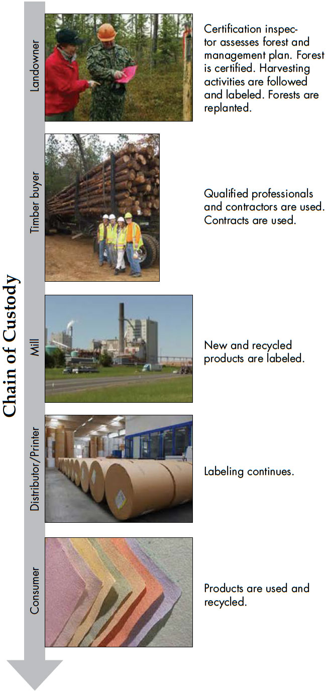 Chain of Custody graphic