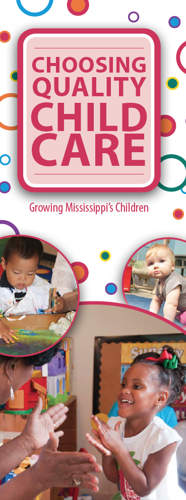 A copy of the Choosing Quality Child Care brochure.