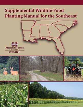 The front cover of Supplemental Wildlife Food Planting Manual for the Southeast.