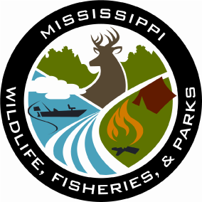 The Mississippi Wildlife, Fisheries, and Parks logo