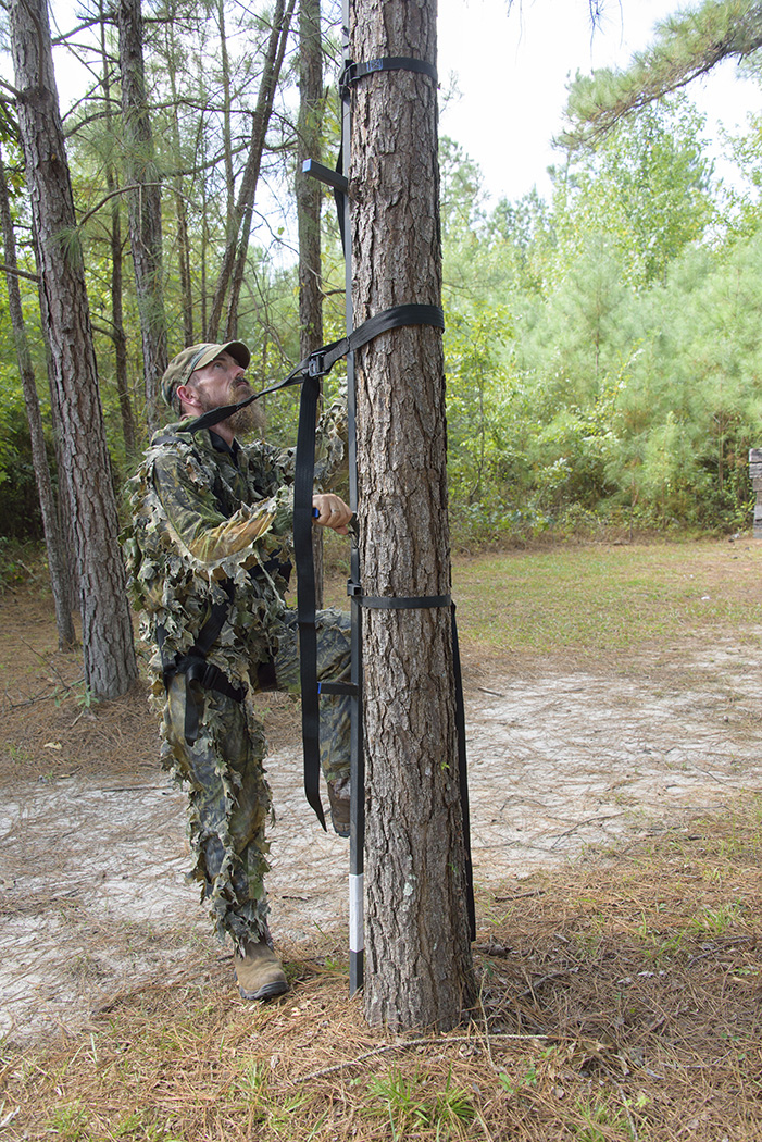 Staying connected a guide to tree stand safety for Permanent tree stand