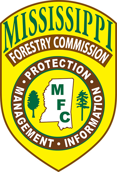 The Mississippi Forestry Commission logo.