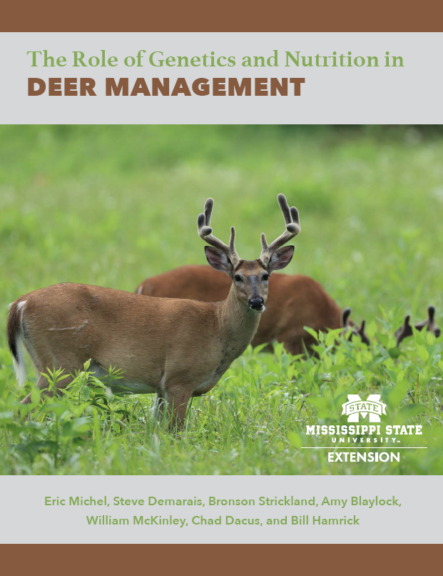 Image of The Role of Genetics and Nutrition in Deer Management cover