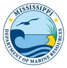 MS Department of Marine Resources logo.