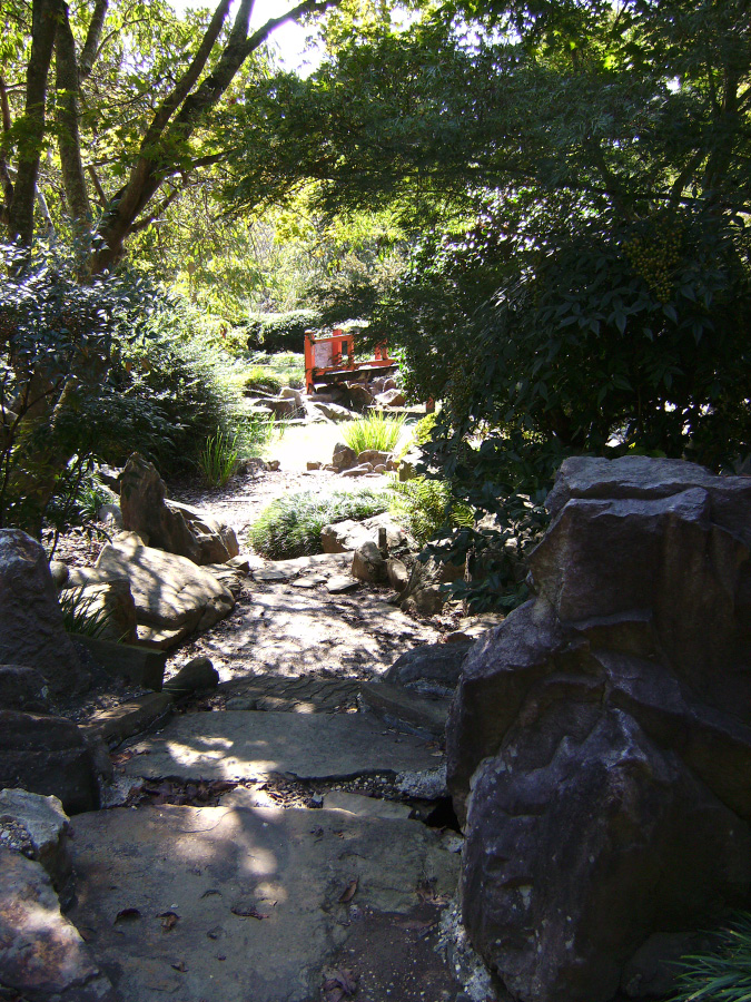 Dry swales contain water only during a rain and can be designed as landscape features when dry.