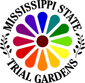 Mississippi State Trial Gardens logo.