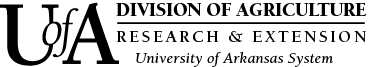 University of Arkansas Division of Agriculture Research and Extension logo.