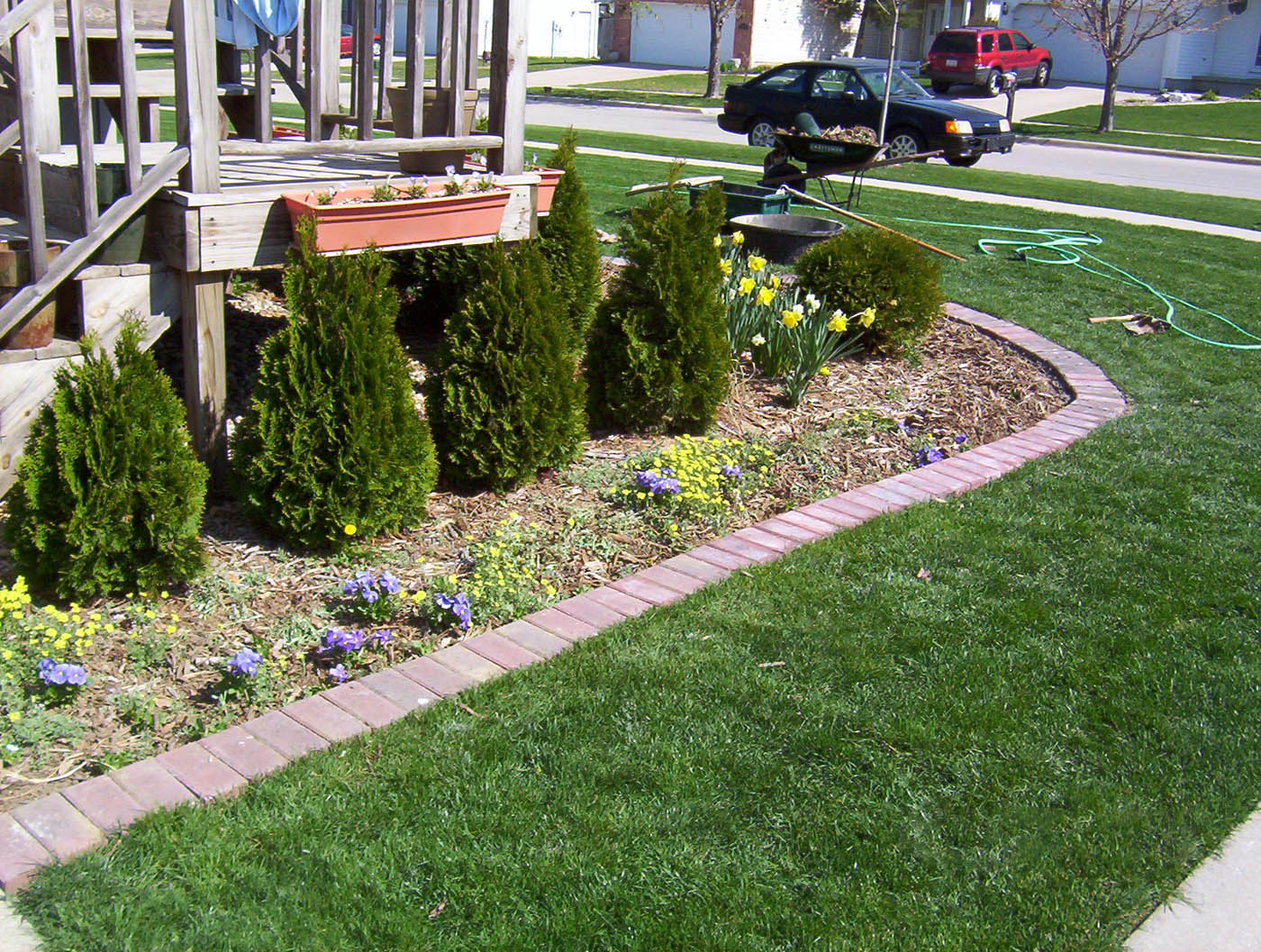 edging makes landscape beds pretty easy to keep mississippi state