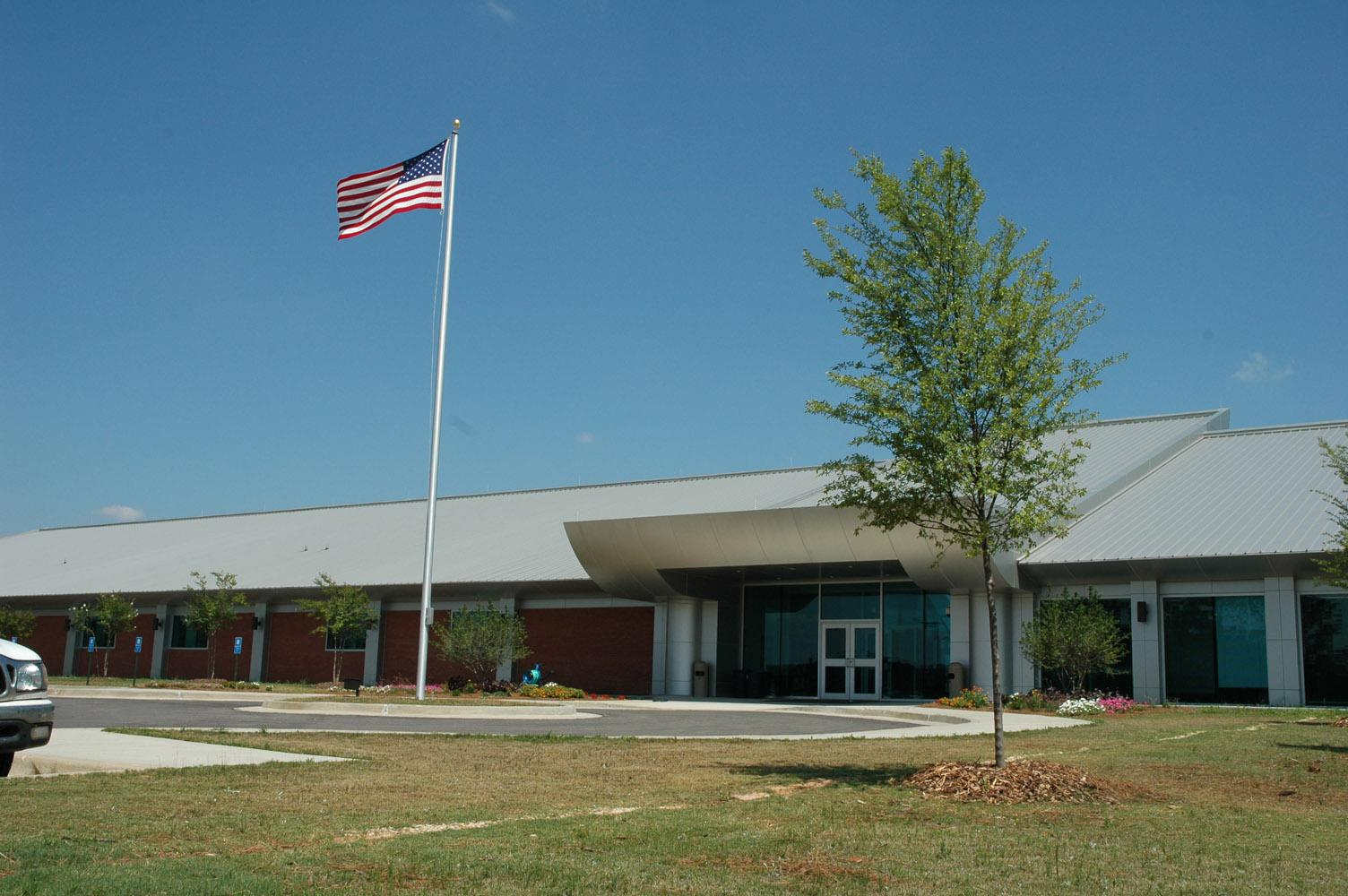 U.S. Department of Agriculture horticulture laboratory in Poplarville