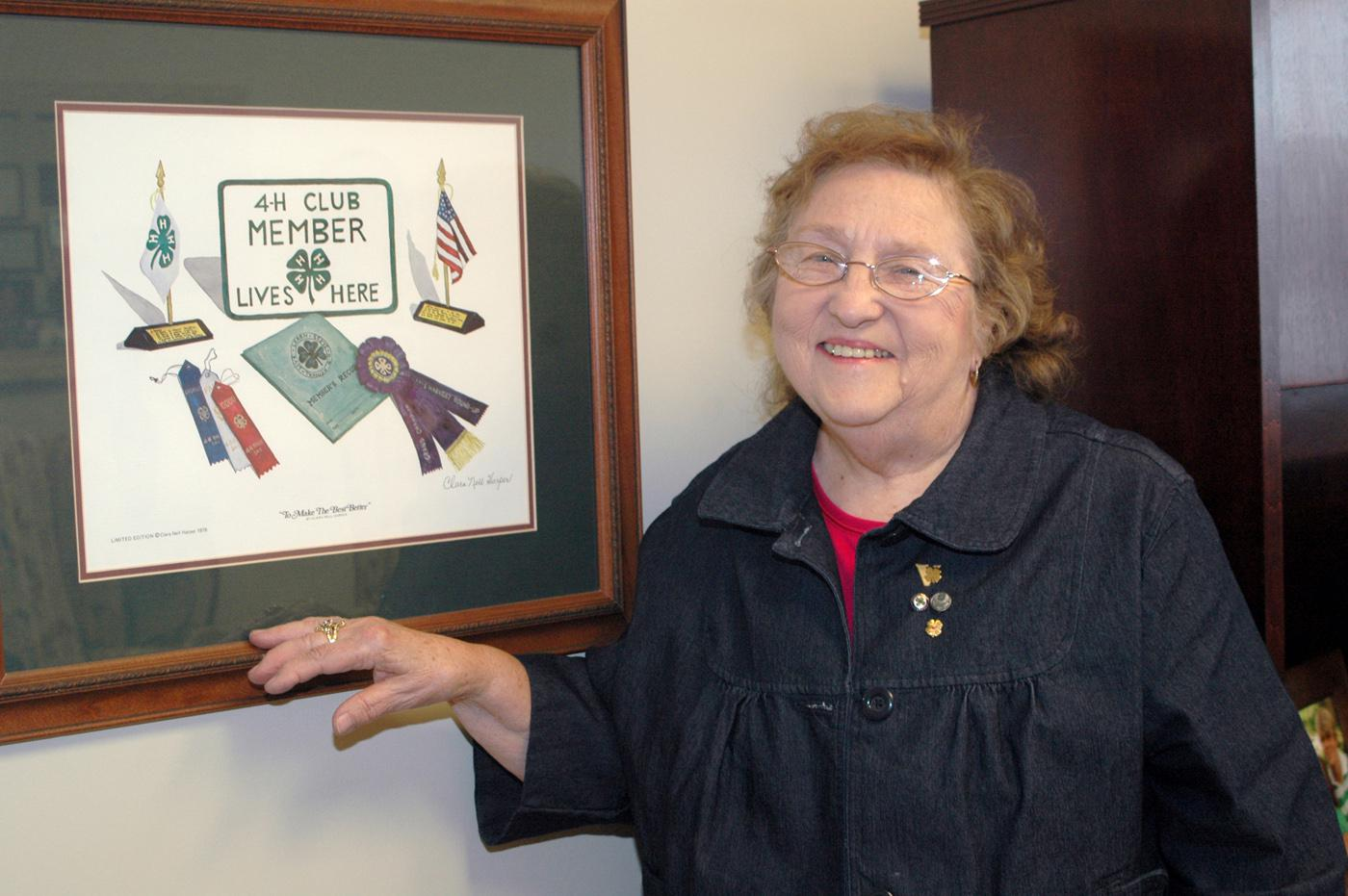 "Alma Hopper, a 4-H adult volunteer leader in Alcorn County, has spent more than 55 years teaching youth to live according to the organization's credo of ""Making the Best Better."" Her experiences as a 4-H member in Kentucky influenced Hopper's decision to become a volunteer leader. (Photo by Patti Drapala)"
