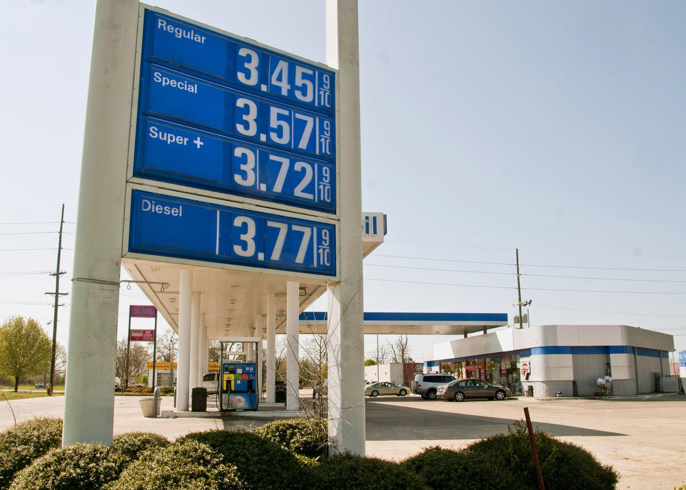 Fuel prices surged 13 percent in Mississippi in the last month, putting the squeeze on already-stretched budgets. (Photo by Scott Corey/MSU Ag Communications)