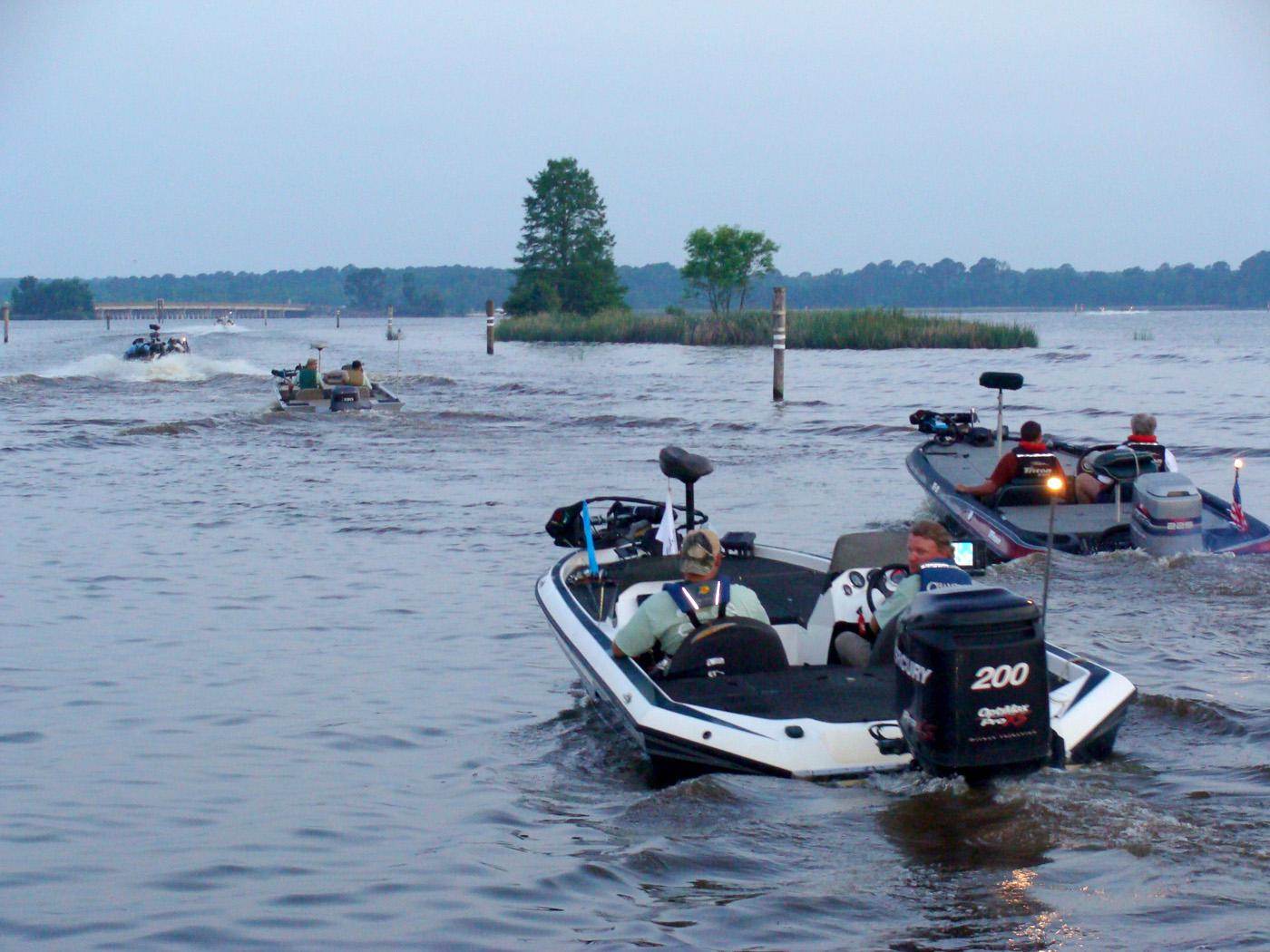 On May 6, nearly 400 anglers in 189 boats launched on the Ross Barnett Reservoir to begin the annual Catch-A-Dream Foundation Bass Classic, which raises funds for hunting and fishing experiences for children with life-threatening illnesses. (Submitted Photo)