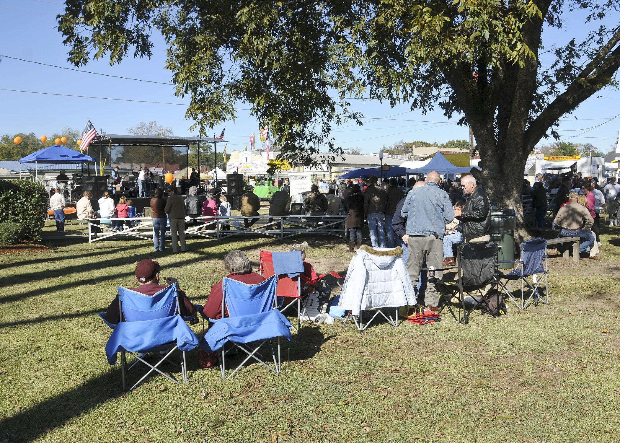 Festivals, such as the annual Sweet Potato Festival in Vardaman, can be significant sources of economic development for communities. (Photo by MSU Ag Communications/Scott Corey)