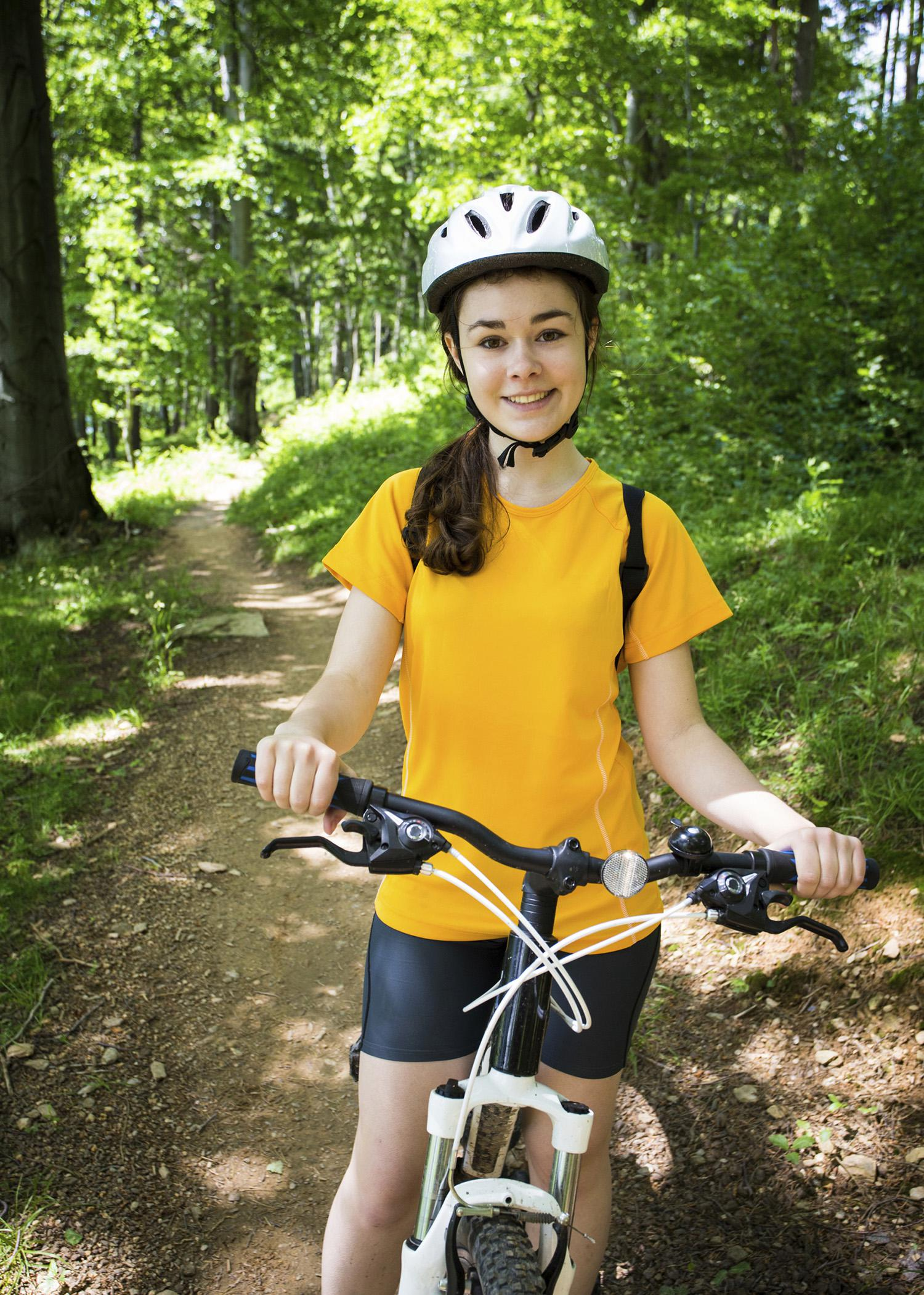 Bicycle helmets can mean the difference between life and death whether they are on toddlers in the driveway or on older riders on trails or roadways. (Photo by Getty Images/Thinkstock)