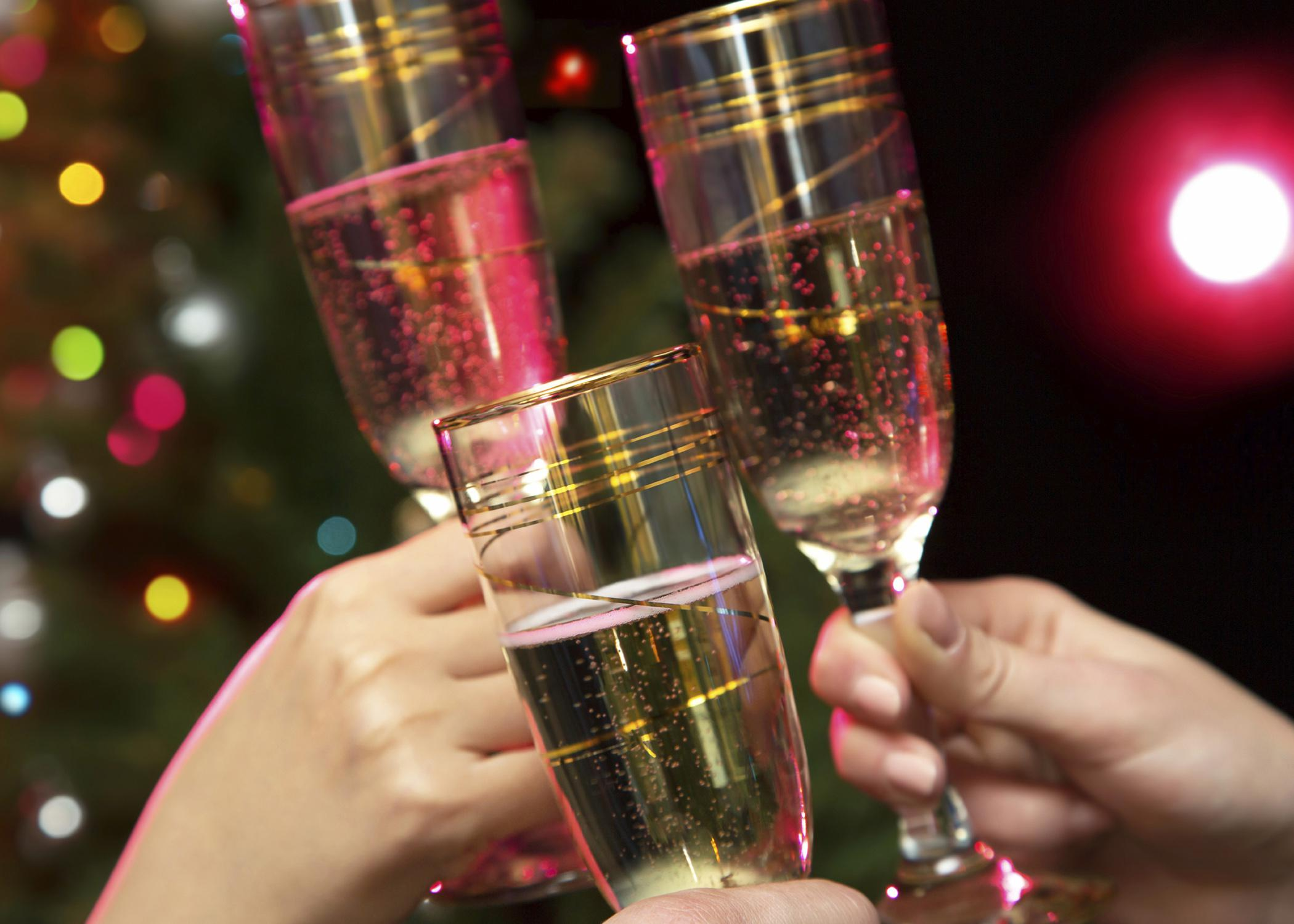 Holiday stress can trigger excessive drinking for alcoholics. Individuals in recovery from alcohol addiction should avoid gatherings with alcohol or make special arrangements if they must attend. (Photo from istockphoto/Chagin)