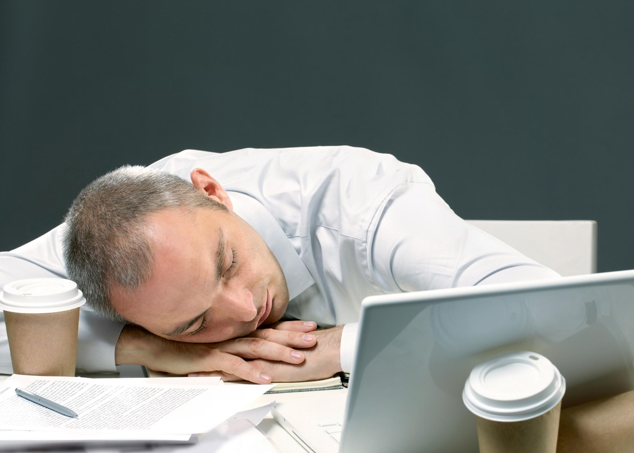 Stress and a lack of sleep can cause fatigue, interfere with productivity, and increase health problems. (Photo by iStock)