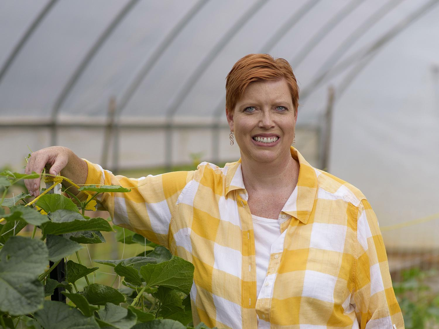 Christine Coker, a horticulture specialist with Mississippi State University, began sowing the seeds for her career in elementary school as a 4-H member. Now, she helps put food on Mississippians' tables with her research and Extension projects.