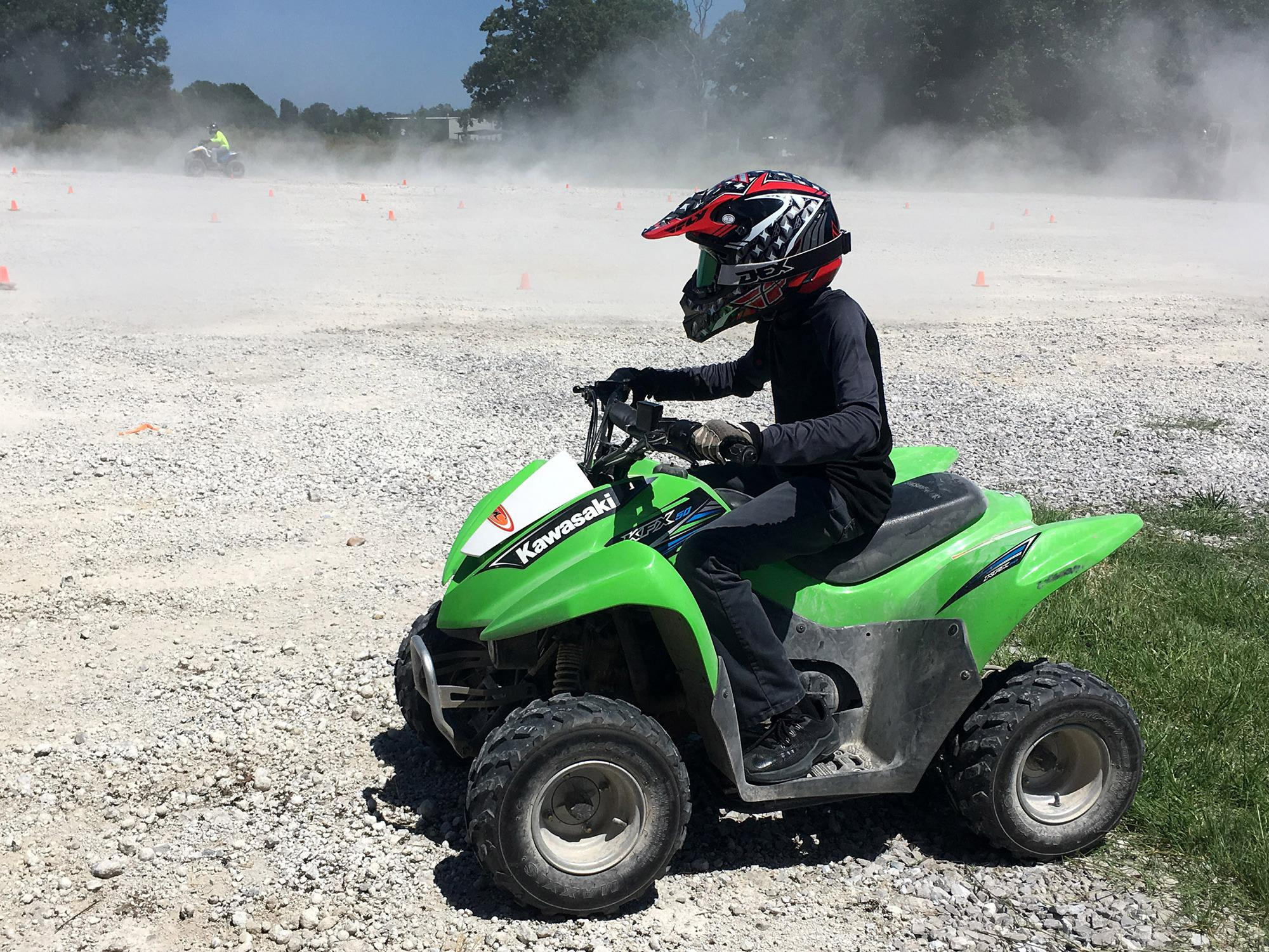 Atv Safety Is Focus Of Extension 4 H Training June 3 7 Mississippi State University Extension Service