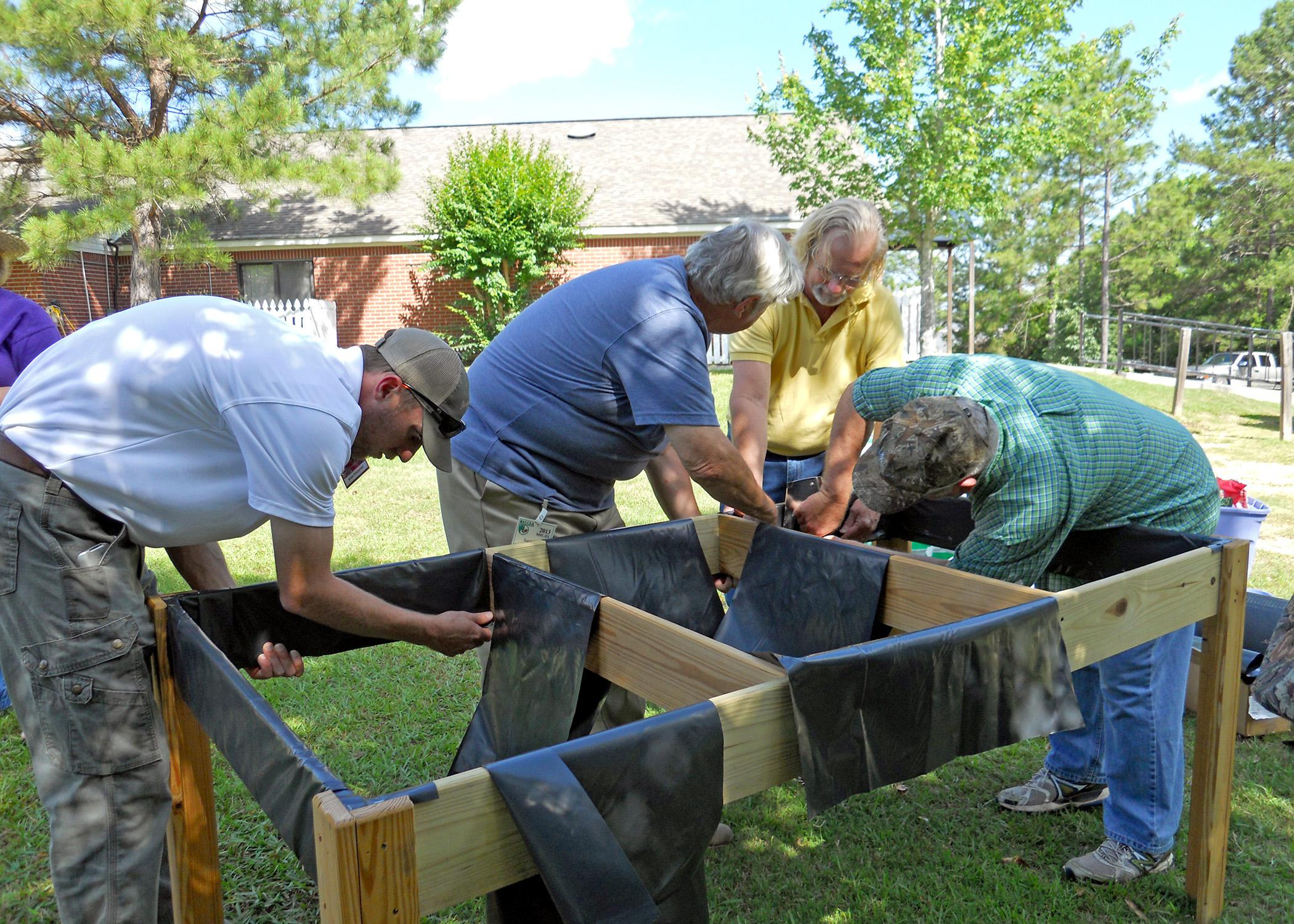 Handicapped Accessible Raised Beds Mississippi State
