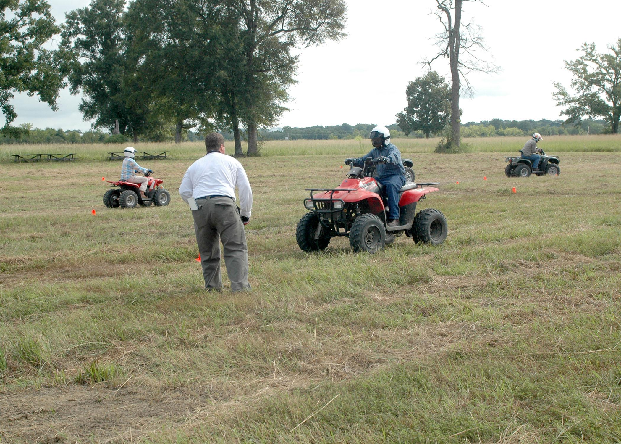 Attending safety courses about all-terrain vehicles can provide drivers with experience in handling all types of situations. (File photo/MSU Ag Communications)