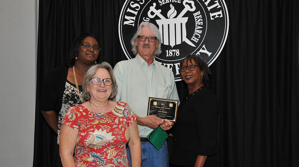 Joel Hoxie from Jefferson Davis County - Rising Star Award