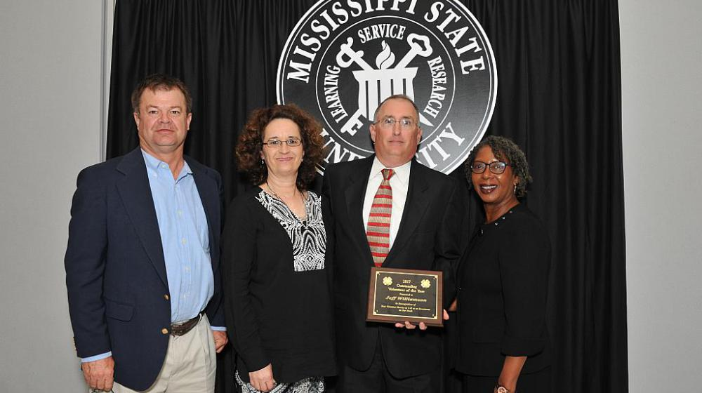 Jeff Williamson from Rankin County - Outstanding Volunteer of the year.