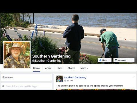 Southern Gardening Facebook Page