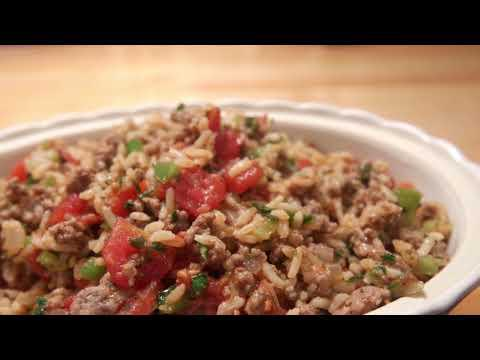 Italian Ground Beef with Rice December 17, 2017