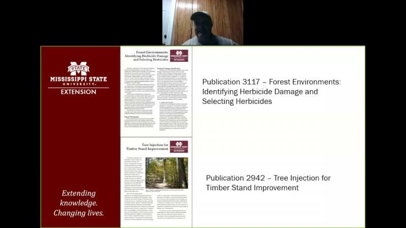 Forest Herbicides Publications Presentation