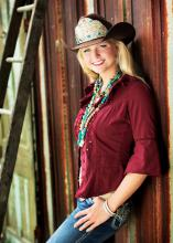 Paige Nicholson of Lawrence is the new Miss Rodeo America for 2014. A recent Mississippi State University agricultural information sciences graduate, Nicholson grew up showing livestock in the Newton County 4-H program and taking part in rodeo competitions. (Submitted photo)
