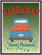 The 37th annual Sweet Potato Festival will be held Nov. 6 in Vardaman. This new poster promotes Vardaman sweet potatoes and will be displayed at the festival.