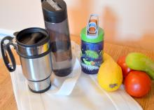 "Using reusable products and eating unprocessed foods are good for the environment and simple steps along the path in the ""going green"" journey. (Photo by MSU Extension Service/Beth Baker)"
