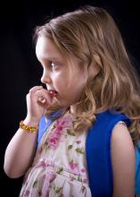 First-time students can be anxious about starting school, but parents can use several strategies to relieve their children's fears of the unknown. (Photo by iStock)