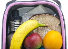 Each of the five major food groups should be represented in a child's school lunch box, but taking stock of what a child likes eating the most at home can help parents pack a lunch that meets both nutrition needs and preferences (Photo by iStock)