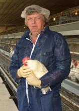 Tom Tabler, poultry science professor with the Mississippi State