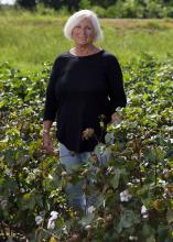 Fran Pittman and her family operate Pittman Farms in Webster, Calhoun and Montgomery counties. The operation includes 325 acres in northwest Webster County that have never been owned by anyone but a Pittman. (Photo by Kevin Hudson/MSU Extension Service)