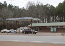 In areas without grocery stores, nutrition-poor, energy-dense foods often make up the majority of foods available. This convenience store was photographed Jan. 16, 2017, in Pheba, in Clay County, Mississippi. (Photo by MSU Extension Service/Kat Lawrence)