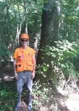 Mississippi State University senior Zach Senneff is the recipient of the Harold Weaver Undergraduate Student Excellence Award for his research on the flammability of hardwood forests. (Submitted photo)