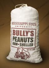 The Mississippi Agricultural and Forestry Experiment Station Sales Store on the Mississippi State University campus has added raw, shelled, Bully's Peanuts in 5-pound bags and 5-pound boxes to its line of products. (Photo by MSU Ag Communications/Kat Lawrence)